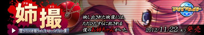 アパタイト 【姉撮(アネドリ)〜堕ちていくお姉ちゃんを助けられない僕〜】